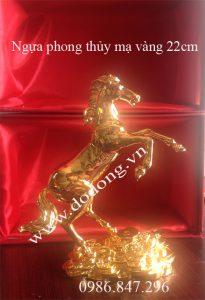 Cung cấp sản phẩm ngựa phong thủy mạ vàng tặng khách
